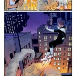 Art from Superior Foes of Spider-Man #16 by Steve Lieber and Rachelle Rosenberg.